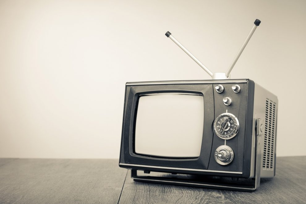 Watching A Movie On Old Black And White Tv Can Be Your Personal Time